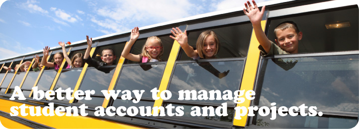 A better way to manage student accounts and work.