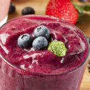 Wildberry smoothies