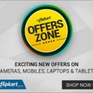 Flipkart Cashback Offers on SBI, HDFC, Axis, ICICI, Citi Bank & Yes bank debit or credit cards.